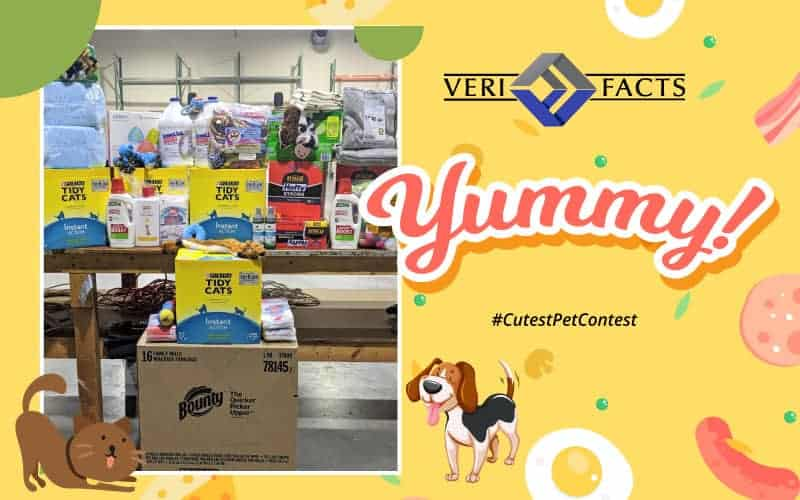 VeriFacts Happy Tails Pet Contest